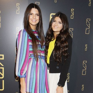 Kendall Jenner, Kylie Jenner in The RYU Restaurant Grand Opening