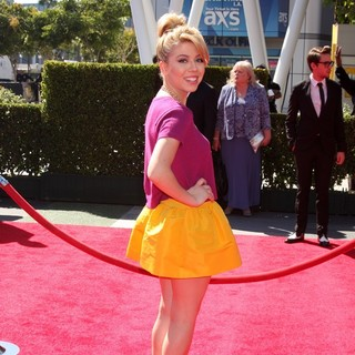 Jennette McCurdy in 2013 Primetime Creative Arts Emmy Awards - Arrivals