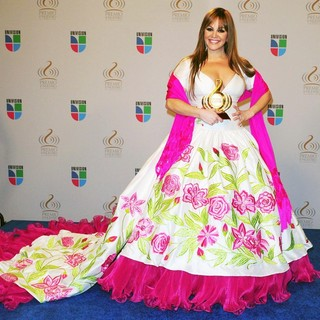 Jenni Rivera in Univisions 2010 Premio Lo Nuestro a La Musica Latina Awards - Press Room