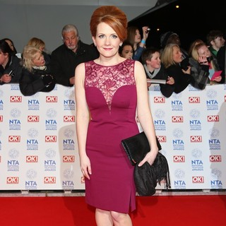 Jennie McAlpine in National Television Awards 2013 - Arrivals