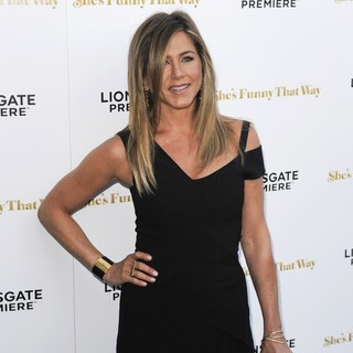 Jennifer Aniston - Los Angeles Premiere of She's Funny That Way - Red Carpet Arrivals