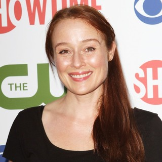 Jennifer Ehle in CBS, The CW and Showtime TCA Party