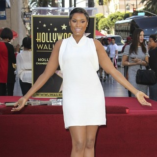 Jennifer Hudson in Jennifer Hudson Is Honored with A Star on The Hollywood Walk of Fame