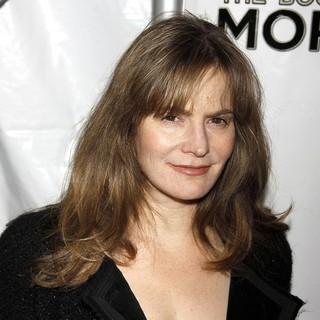 Jennifer Jason Leigh in Opening Night of The Broadway Musical Production of The Book of Mormon - Arrivals