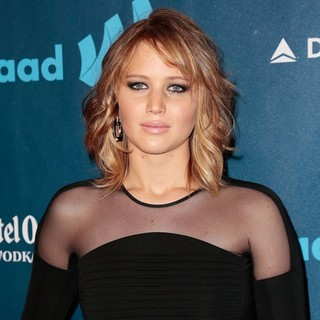 Jennifer Lawrence in 24th Annual GLAAD Media Awards - Arrivals
