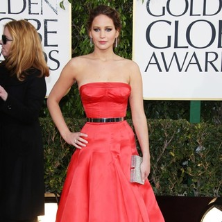 Jennifer Lawrence in 70th Annual Golden Globe Awards - Arrivals
