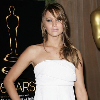 Jennifer Lawrence in 85th Academy Awards Nominees Luncheon