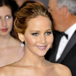 Jennifer Lawrence in The 85th Annual Oscars - Red Carpet Arrivals