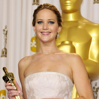 Jennifer Lawrence in The 85th Annual Oscars - Press Room