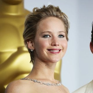 Jennifer Lawrence in The 86th Annual Oscars - Press Room