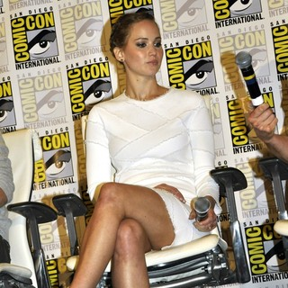 Jennifer Lawrence in Comic-Con International 2013 - X-Men: Days of Future Past - Press Conference