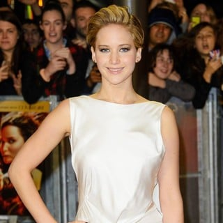 Jennifer Lawrence in The World Premiere of The Hunger Games: Catching Fire - Arrivals