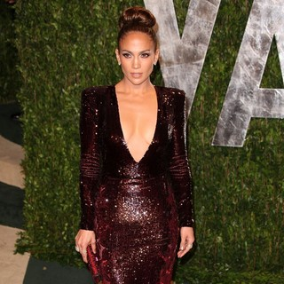 Jennifer Lopez in 2012 Vanity Fair Oscar Party - Arrivals