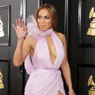 Jennifer Lopez in 59th Annual GRAMMY Awards - Arrivals