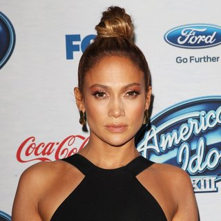 Jennifer Lopez in FOX's American Idol XIII Finalists Party