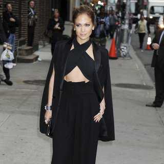 Jennifer Lopez for Late Show with David Letterman