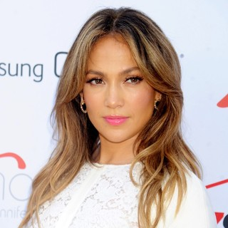 Jennifer Lopez - The Ribbon Cutting and Opening of Viva Movil by Jennifer Lopez Flagship Store