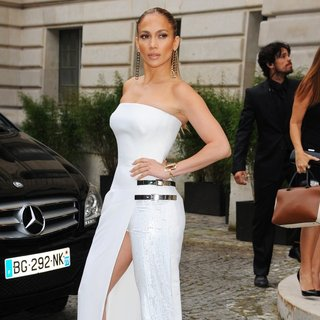 Paris Fashion Week - Haute Couture Fall-Winter 2014-2015 - Atelier Versace - Arrivals