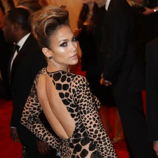 Jennifer Lopez in PUNK: Chaos to Couture Costume Institute Gala