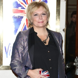 Jennifer Saunders in VIVA Forever Spice Girls The Musical - Arrivals