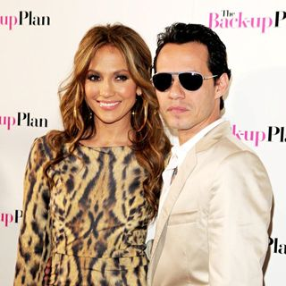 Jennifer Lopez, Marc Anthony in The Screening of ''The Back-Up Plan''