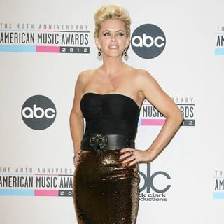 Jenny McCarthy in The 40th Anniversary American Music Awards - Press Room