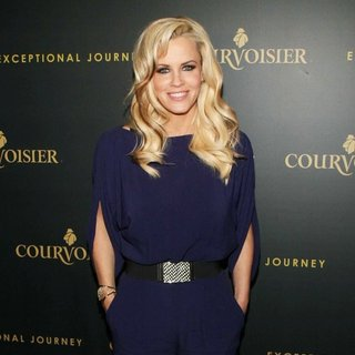 Jenny McCarthy in Courvoisier Launches Exceptional Journey Campaign with Tyson Beckford