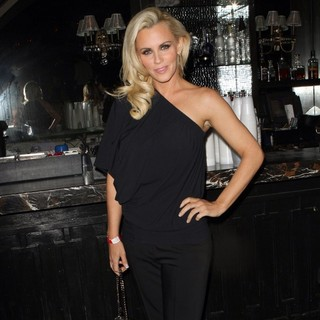 Jenny McCarthy in LA Matadors v Milano Thunder Viewing Party