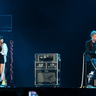 Carly Rae Jepsen, Cody Simpson in Carly Rae Jepsen and Cody Simpson Support Justin Bieber on His Believe Tour