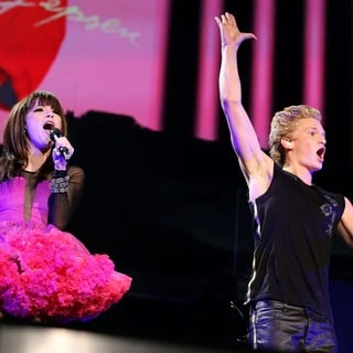 Carly Rae Jepsen, Cody Simpson in Carly Rae Jepsen and Cody Simpson Performing Live at The Grand Garden Arena