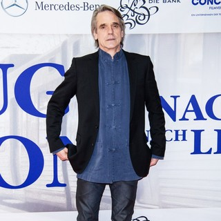 Jeremy Irons in The Premiere of Nachtzug nach Lissabon