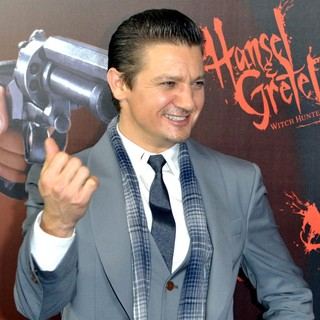 Jeremy Renner in Hansel and Gretel: Witch Hunters Premiere
