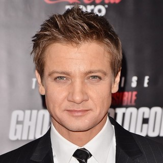 Jeremy Renner in New York Premiere of Mission: Impossible Ghost Protocol