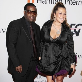 Rodney Jerkins, Joy Enriquez in Clive Davis and The Recording Academy Present The Annual Pre-Grammy Gala