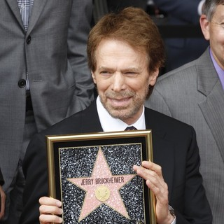 Jerry Bruckheimer in Jerry Bruckheimer Honored on The Hollywood Walk of Fame