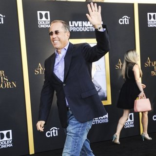 Jerry Seinfeld in A Star Is Born Los Angeles Premiere - Arrivals