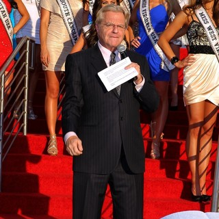 Jerry Springer in 2012 Miss USA Official Welcome Event