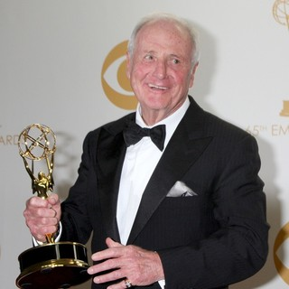 Jerry Weintraub in 65th Annual Primetime Emmy Awards - Press Room