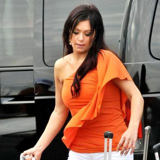 JWoww in The Cast of Jersey Shore Returns to Seaside Heights After Filming in Florence, Italy