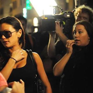 JWoww in Filming for The Reality Show 'Jersey Shore'