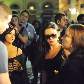 Snooki, JWoww in Filming for The Reality Show 'Jersey Shore'