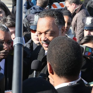 Jesse Jackson in The Funeral of Whitney Houston