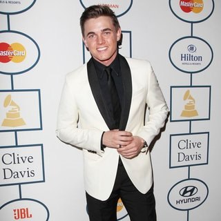 Jesse McCartney in 2014 Pre-Grammy Gala and Grammy Salute to Industry Icons - Clive Davis