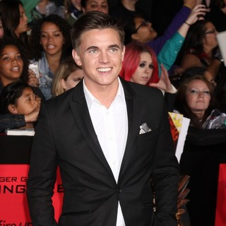 Jesse McCartney in The Hunger Games: Catching Fire Premiere