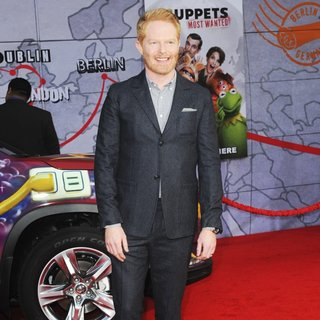 Jesse Tyler Ferguson in Los Angeles Premiere of Disney's Muppets Most Wanted - Red Carpet Arrivals