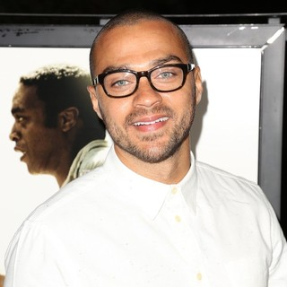 Jesse Williams in Los Angeles Premiere of 12 Years a Slave