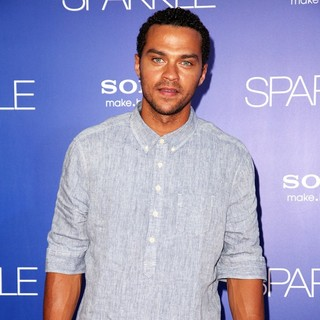 Jesse Williams in The Los Angeles Premiere of Sparkle - Inside Arrivals