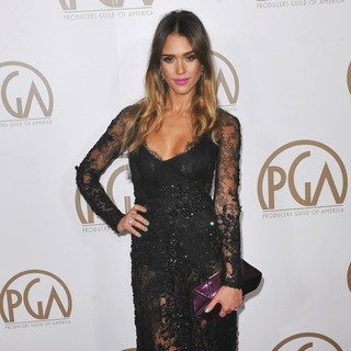 Jessica Alba in 24th Annual Producers Guild Awards - Arrivals - jessica-alba-24th-annual-producers-guild-awards-05