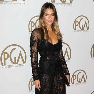 Jessica Alba in 24th Annual Producers Guild Awards - Arrivals - jessica-alba-24th-annual-producers-guild-awards-06