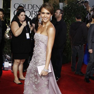 Jessica Alba in The 69th Annual Golden Globe Awards - Arrivals